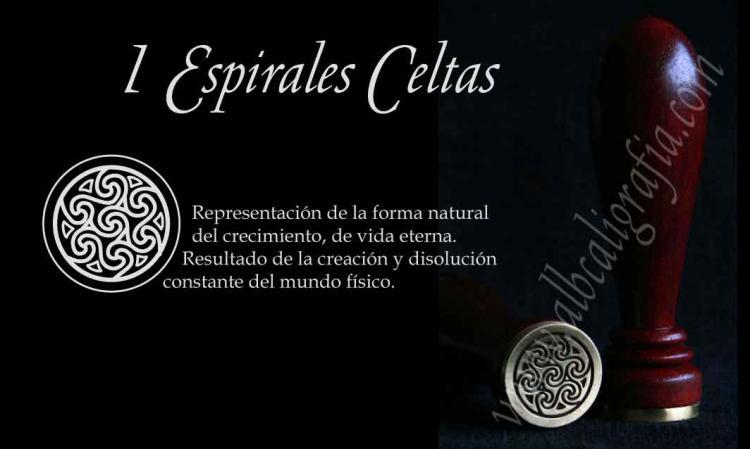 Sello 1 Espirales Celtas