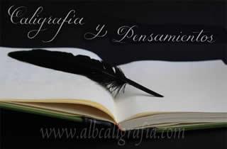 Cuaderno para escritura y pluma de ave para escribir