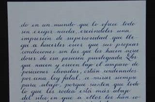 Transcripción de la cuarta parte de la carta del General Obregón a su hijo Humberto