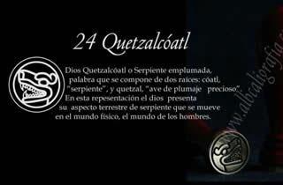 Sello para lacrar con con diseño de Quetzalcoatl  en su forma de serpiente