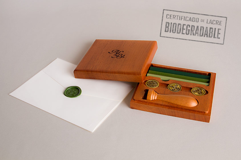 lacre biodegradable juego series