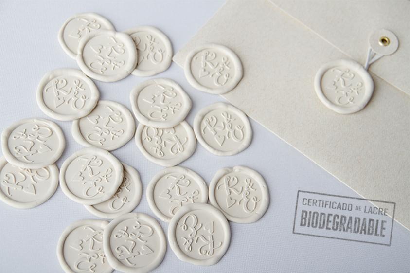 lacre biodegradable medallon mediano